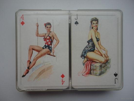 Карты игральные пара колод