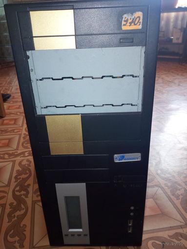 Системный блок ПЭВМ FINIST 0499-S3200, не работает материнская плата. НА ЗАПЧАСТИ .