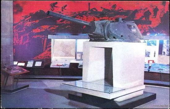 """""""Уличный бой в Сталинграде"""" - открытка СССР 1973 г., чистая"""