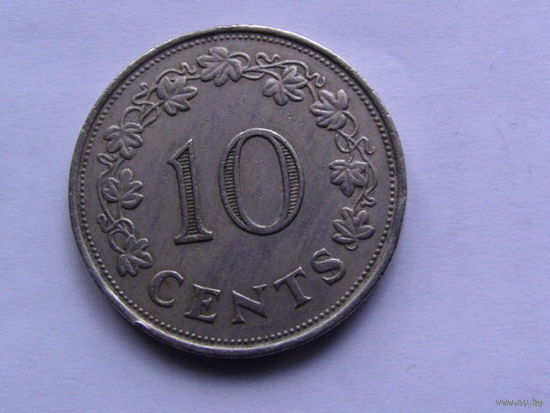 Мальта 10 центом 1972г  большая  распродажа