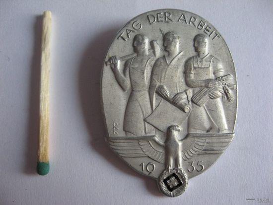 Знак Германия 1935г. TAG DER ARBEIT