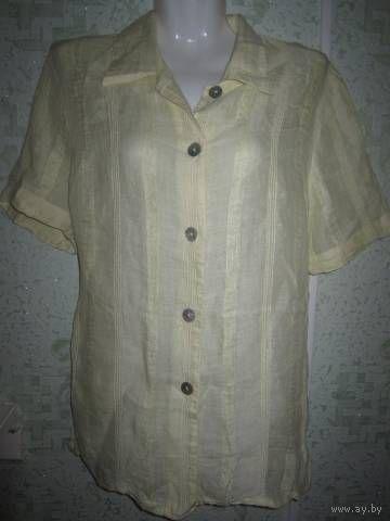 Рубашка льняная, р.48-50