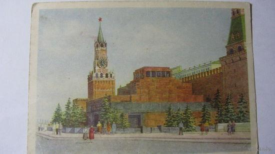 Ленин Мавзолей 1954