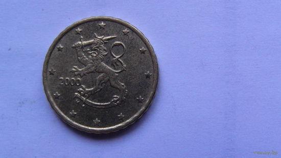 Финляндия 10 центов 2000г распродажа