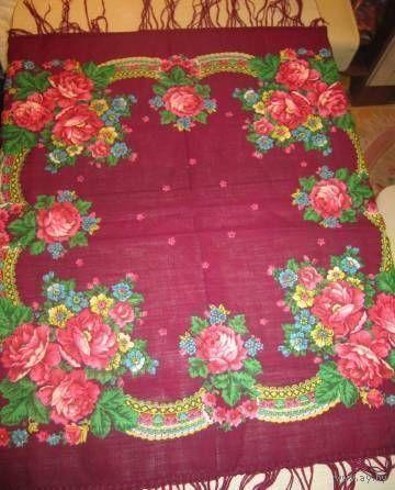 Красивый платок