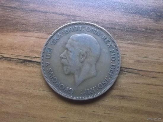 Великобритания 1 пенни 1932