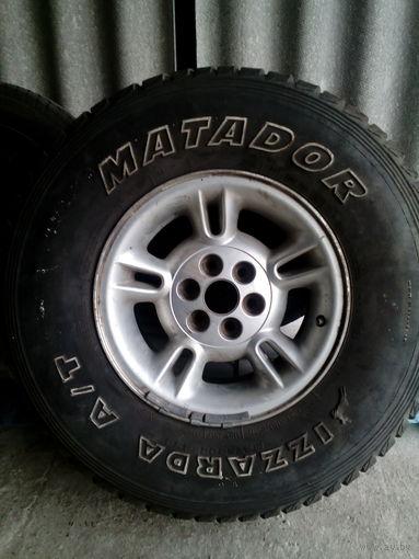 """Шины с дисками на Джип,или др.авто.Матадор,,Izzarda"""""""
