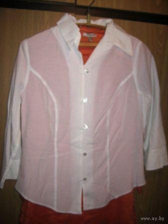 Рубашка офисная -приталенная  р.46-48