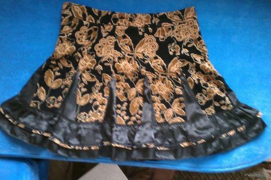 Модная юбочка с валанами