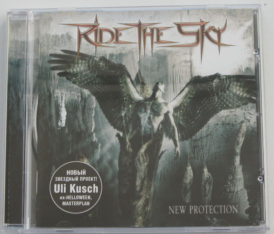 Ride The Sky - New Protection CD (лицензия) [Progressive/Power Metal]