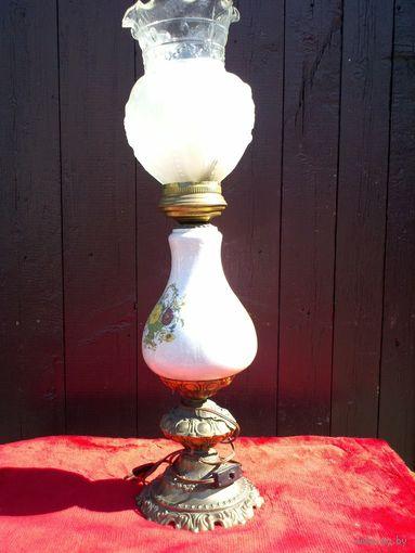 Голландская лампа. Фарфор