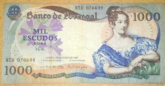 1000 эскудо 1967г.