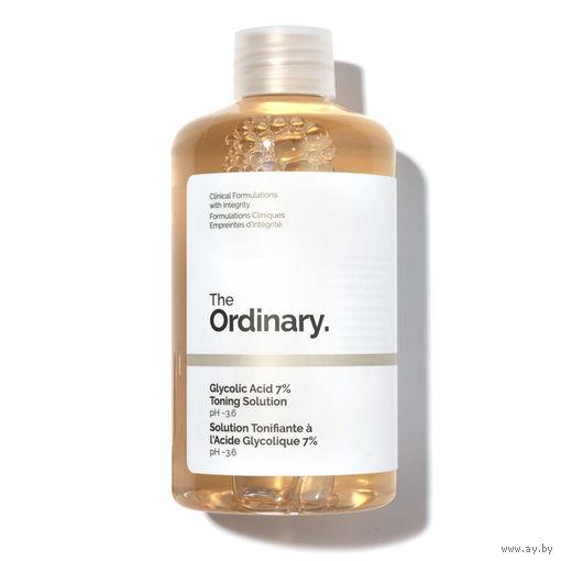The Ordinary Glycolic Acid 7% Toning Solution обновляющий тоник с гликолевой к-той