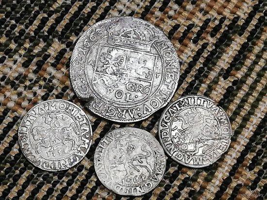 Старые монетки.