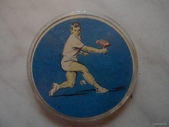 Значок теннис