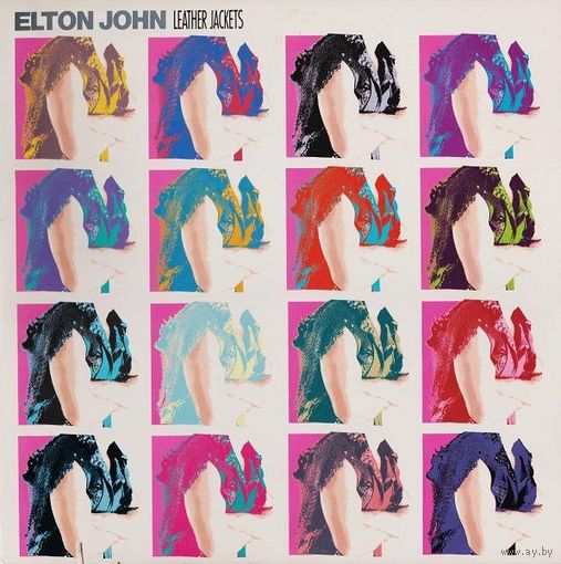 Elton John - Leather Jackets - LP - 1986