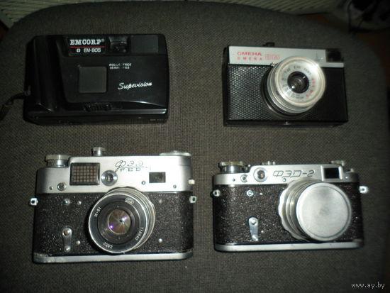 Фотоаппараты. 4 шт.
