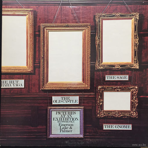Emerson, Lake & Palmer - Pictures At An Exhibition - LP - 1972