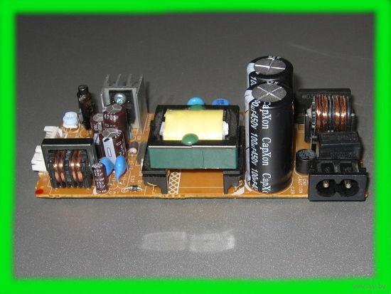Блок питания 50W (10Vx2.5A + 8Vx2.5A + 6,5Vx0,5A. Плата.)
