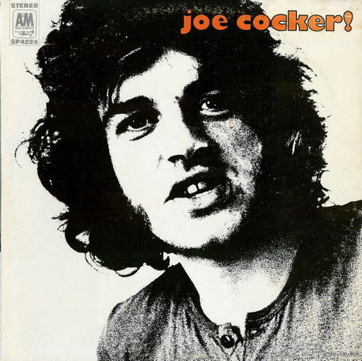 Joe Cocker - Joe Cocker!-1969,Vinyl, LP, Album,made in Canada.