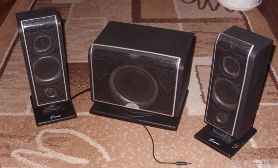 Компьютерная акустика Dowell SP-E001 (2.1) 54 Вт