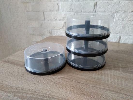 Банки для CD и DVD дисков - Cake Box