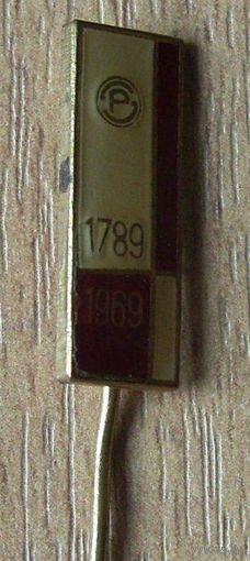 Значек, 180 лет какой-то фирме