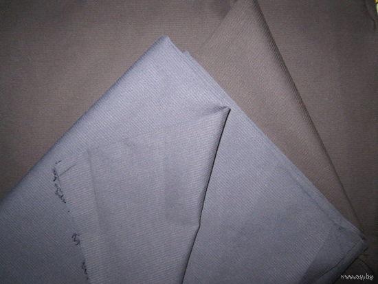 Ткань костюмная (рубашечная) легкая, хорошего качества (Германия). Черная.