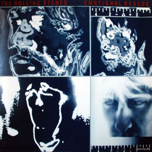 Rolling Stones - Emotional Rescue - LP - 1980