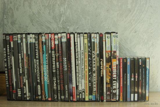 42 диска с играми!
