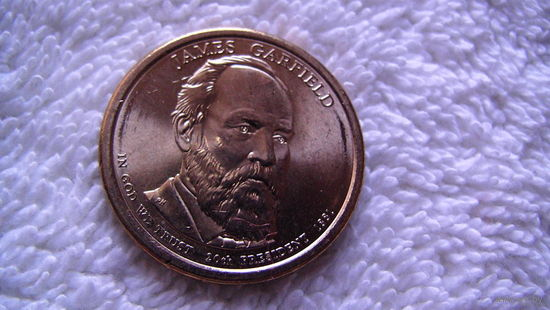 США 1 доллар   20 призидент, 1881г. JAMES GARFIELD    распродажа