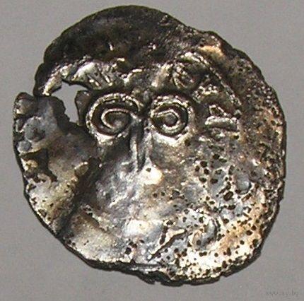 Монета чешуя Пронское удельное княжество 1380-1390 ЭД66