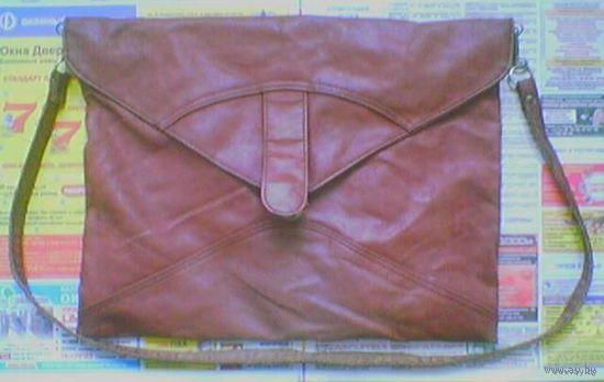 Женская сумка времен СССР (кожзам)