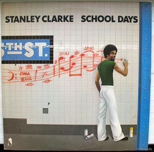 """Stanley Clarke """"School Days"""" LP, 1976"""