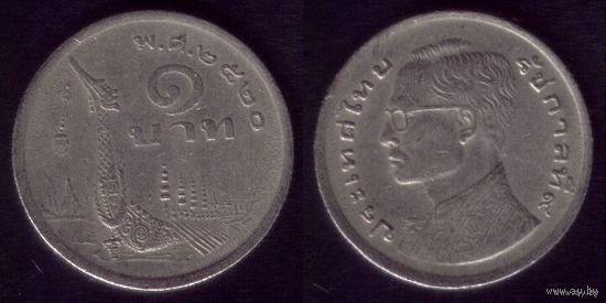 1 Бат 1977 год Тайланд