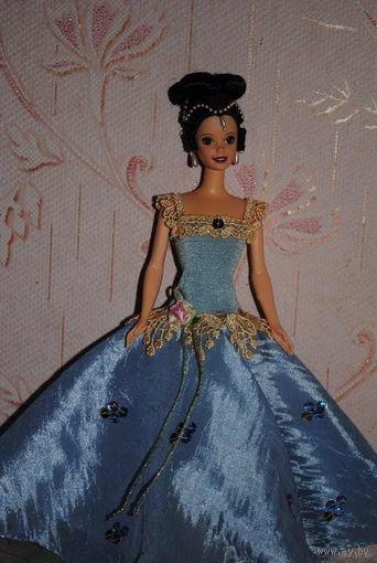 """Продам новое ПЛАТЬЕ для куклы Барби: """"МИЛЕДИ"""" - машинный самошив, сидит весьма аккуратно. Сама кукла, как и её головной убор в стоимость не входят. Пересыл по почте платный!"""