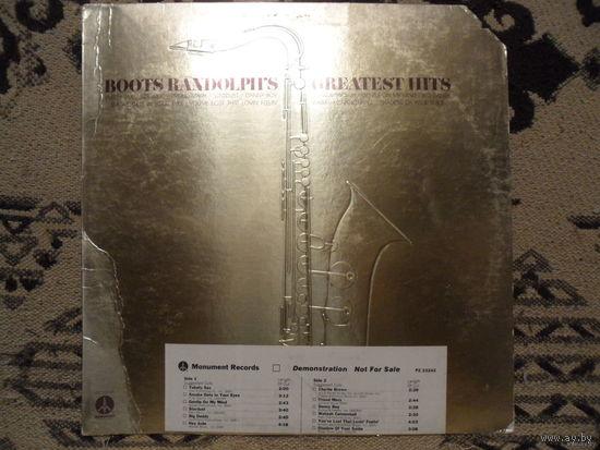 Конверт пластинки Boots Randolph's Greatest Hits