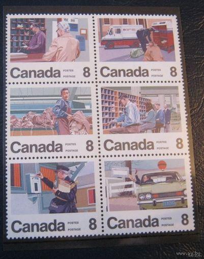 Канада, почтовая служба