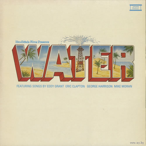LP HANDMADE FILMS Water (Rare 1985 UK 12-track vinyl LP soundtrack album for the film featuring a music score by Mike Moran