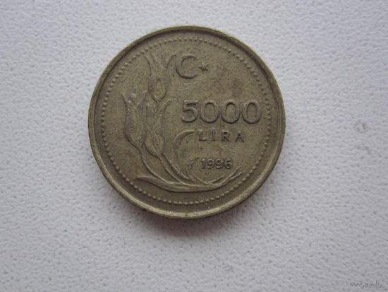 5000 Лир 1996 (Турция)