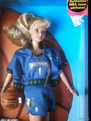 Новая кукла Барби/NBA Barbie 1998