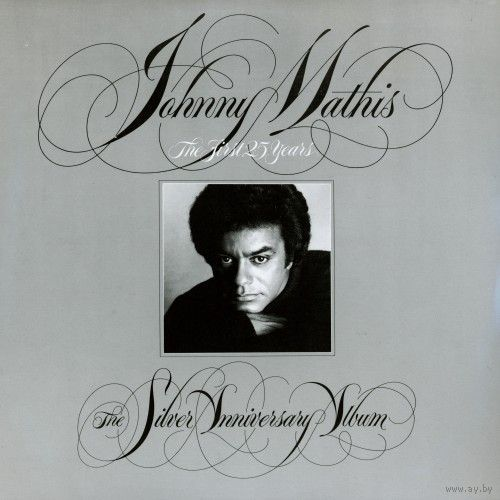 2LP Johnny Mathis - The Silver Anniversary Album (1981)