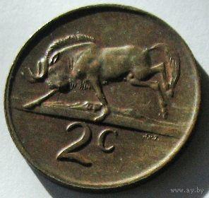 ЮАР, 2 цента 1975