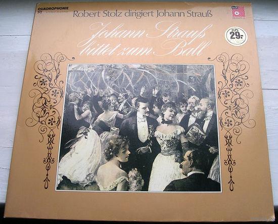 Johann Strauss. Robert Stolz dirigiert Johann Strauss. Bittet zum ball. 2LP, 1973