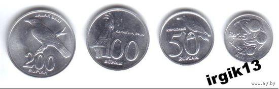 ИНДОНЕЗИЯ набор монет UNC!!!