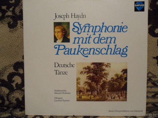 Mozart-Orchester / L. Epstein - И. Гайдн. Симфония No 94. Немецкие танцы - Saphir, Германия