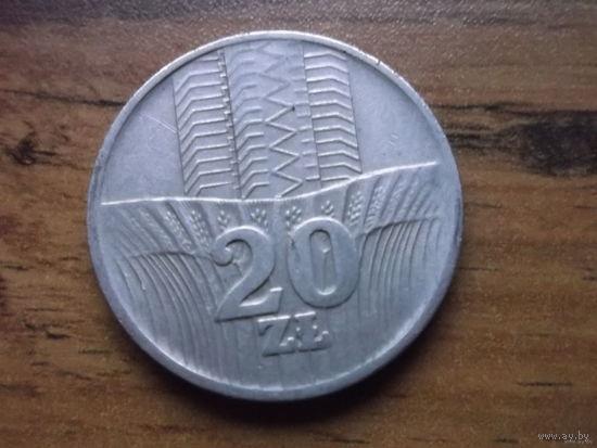 Польша 20 злотых 1976 (2)