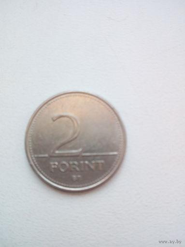 2 форинта 1995г. Венгрия