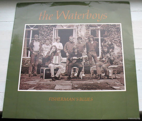 "The Waterboys ""Fisherman's Blues"" LP, 1988"
