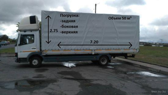 Грузоперевозки по ГОРОДУ, РБ и РФ 5 тонн